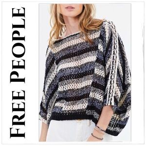Free People Pearl Searching Beach Sweater